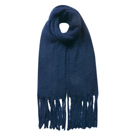 Sjaal 50*180 cm Blauw   JZSC0479BL   Clayre & Eef