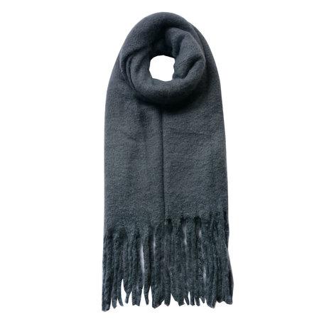 Sjaal 50*180 cm Grijs   JZSC0479G   Clayre & Eef
