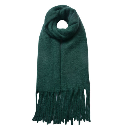 Sjaal 50*180 cm Groen   JZSC0479GR   Clayre & Eef