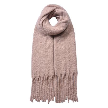 Sjaal 50*180 cm Roze   JZSC0479P   Clayre & Eef