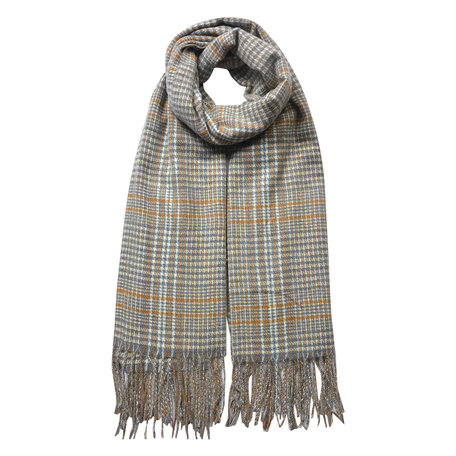 Sjaal 63*180 cm Beige | JZSC0480BE | Clayre & Eef