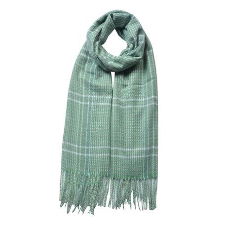 Sjaal 63*180 cm Groen | JZSC0480GR | Clayre & Eef