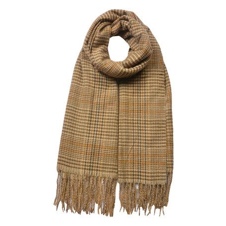 Sjaal 63*180 cm Geel | JZSC0480Y | Clayre & Eef