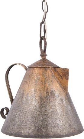 Hanglamp 25*23*26 cm E14/max 1*25W Grijs | 6LMP529 | Clayre & Eef