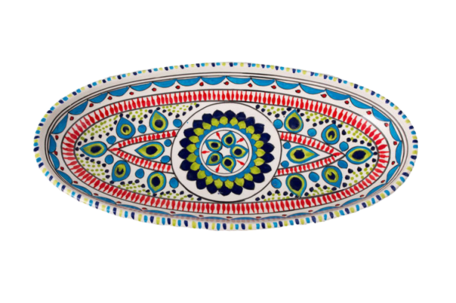 Ovale schaal Pavo 40 cm | OS.PA.40 | Dishes & Deco