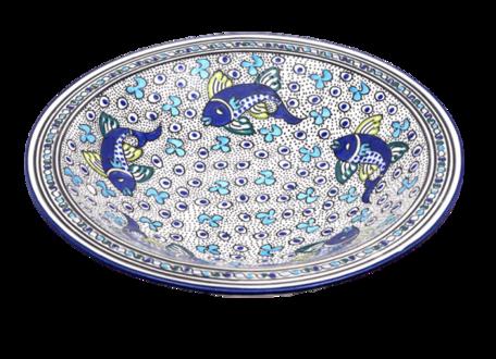 Salade schaal Poisson Ø 35 cm | SOR.AD.35 | Dishes & Deco