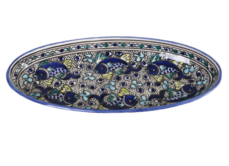 Ovale schaal Poisson 40 cm | OS.AD.40 | Dishes & Deco