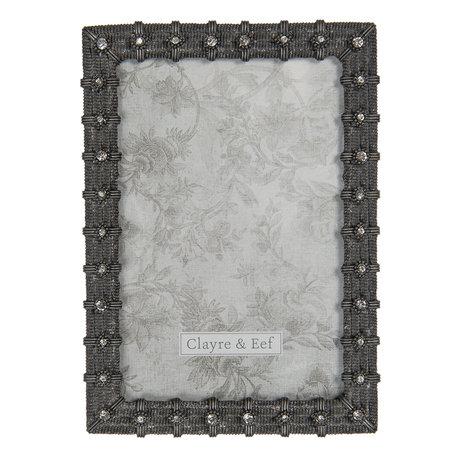 Fotolijst 12*2*17 cm / 10*15 cm Bruin | 2F0752 | Clayre & Eef
