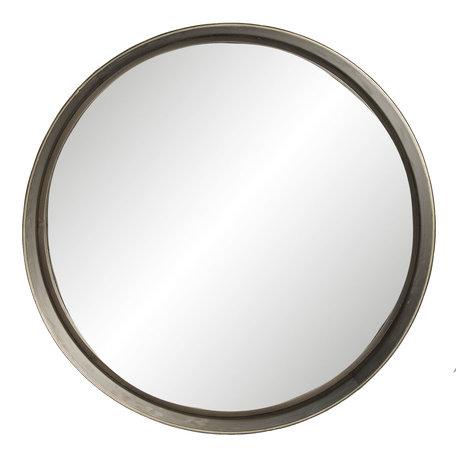 Spiegel ø 56*10 cm Grijs | 62S183 | Clayre & Eef
