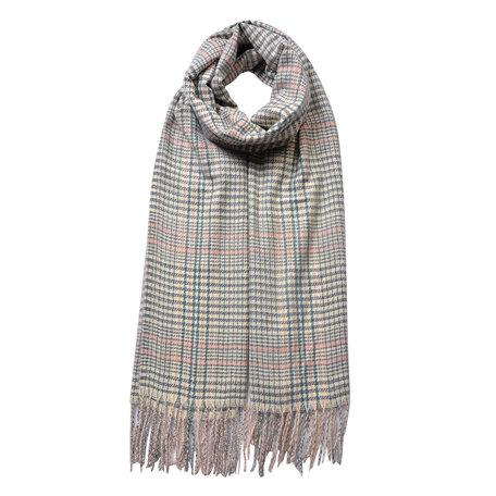 Sjaal 63*180 cm Creme | JZSC0480N | Clayre & Eef
