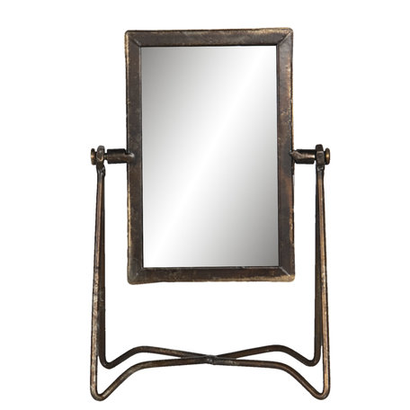 Spiegel 15*10*22 cm Bruin | 62S194 | Clayre & Eef