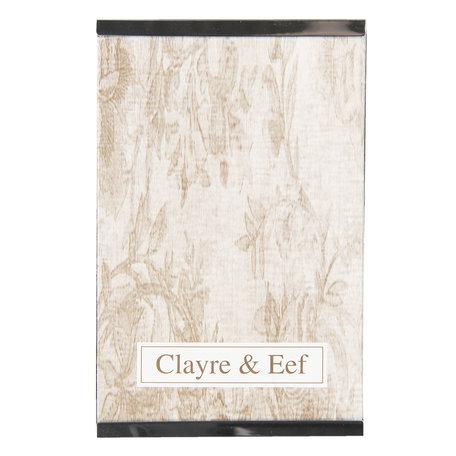 Fotolijst 11*1*16 cm / 10*15 cm Zilverkleurig | 2F0636S | Clayre & Eef