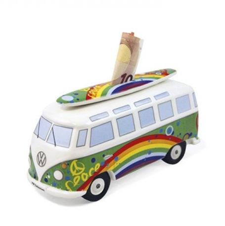 Spaarpot groen surf peace VW Volkswagen T1 | Brisa