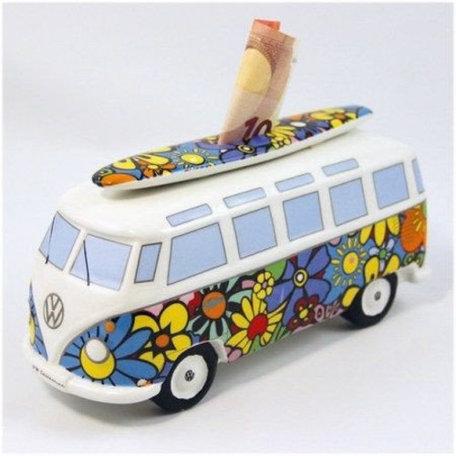 Spaarpot flowers surf VW Volkswagen T1 | Brisa