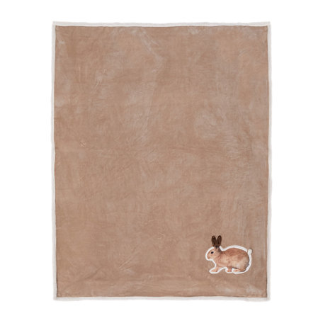 Plaid 130*160 cm Bruin | KT060.100 | Clayre & Eef