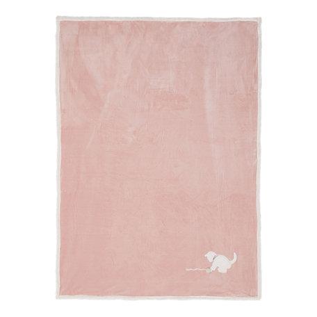 Plaid 130*160 cm Roze | KT060.102 | Clayre & Eef