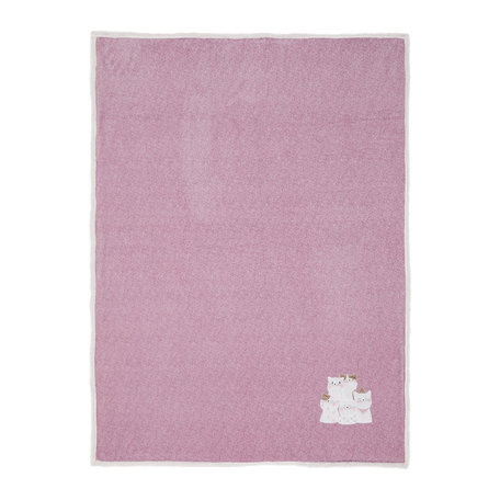 Plaid 130*160 cm Roze | KT060.109 | Clayre & Eef