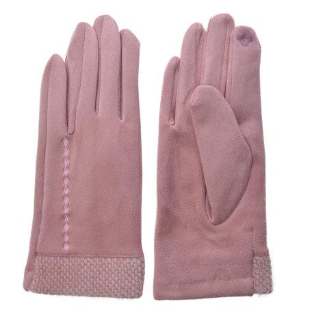 Handschoenen 8*24 cm Roze | JZGL0035P | Clayre & Eef