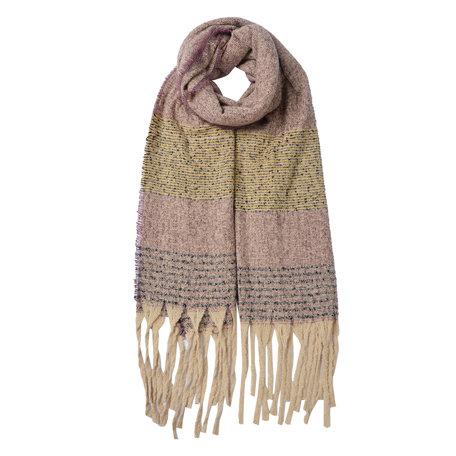 Sjaal 68*185 cm Roze | JZSC0482 | Clayre & Eef