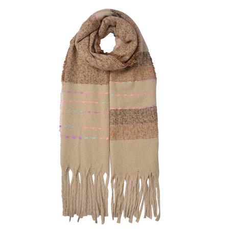 Sjaal 68*185 cm Multi | JZSC0485 | Clayre & Eef