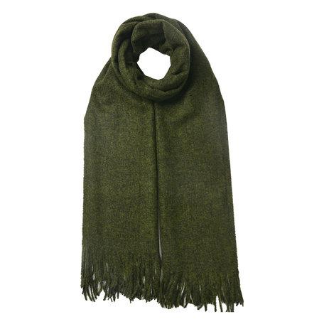Sjaal 68*180 cm Groen | JZSC0492 | Clayre & Eef