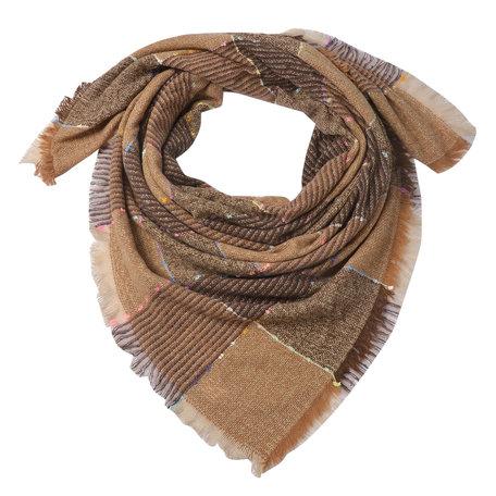 Sjaal 130*130 cm Multi | JZSC0493 | Clayre & Eef