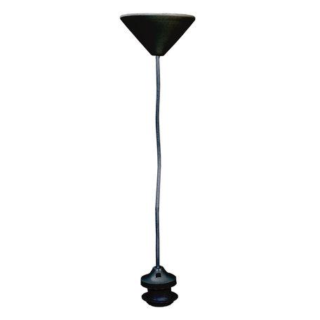 Snoerpendel 1.35 mtr / E27 Zwart | SPLOSZ | Clayre & Eef