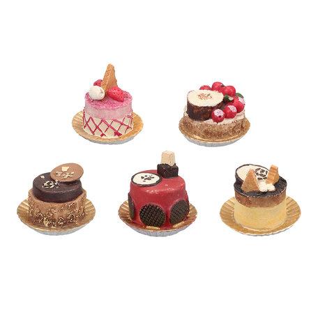 Cupcakes ø 6*6 cm (5) Multi | 6PR3112 | Clayre & Eef