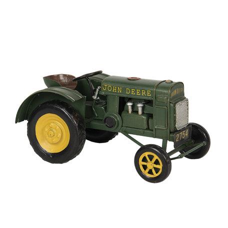 John Deere tractor model licentie 18*9*9 cm Groen   6Y3800   Clayre & Eef
