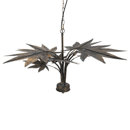 Hanglamp 86*86*49 cm G9/max 4*40W Koperkleurig | 5LMP328 | Clayre & Eef