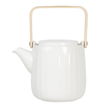 Theepot 0,8L Creme | 6CETE0092 | Clayre & Eef