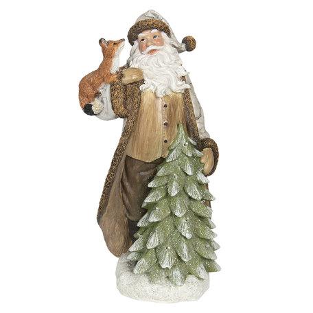 Decoratie kerstman LED 20*17*40 cm Multi | 6PR2987 | Clayre & Eef