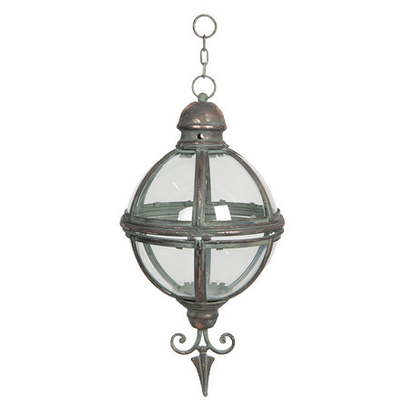 Lantaarn hangend ø 26*47 cm Grijs | 6Y3999 | Clayre & Eef