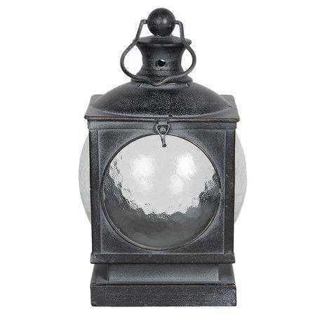 Lantaarn 21*21*35 cm Grijs | 6Y4000 | Clayre & Eef