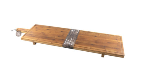 Serveerplank / Snijplank XXL bamboe 100x26x5,5cm