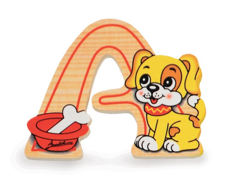 Alfabet letter hout klein A | Bartolucci