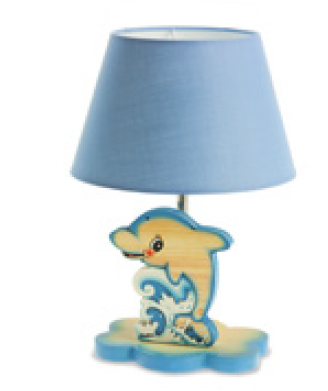 Tafellamp dolfijn 32 x 20 x 20 cm | Bartolucci