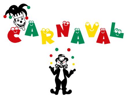 16 delige stickerset herbruikbaar Nar, Clown & Carnaval | Rosami