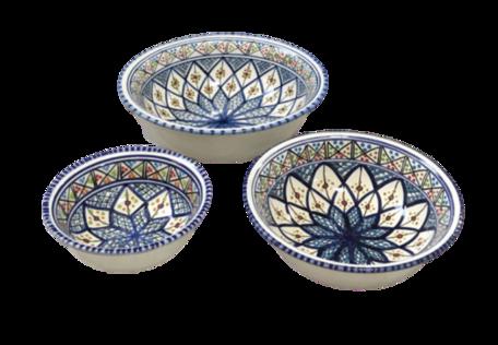Salade set 3 delig Shebka | SB.SK.3D | Dishes & Deco