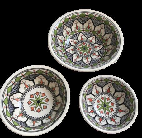 Salade set 3 delig Azis | AZ.SK.3D | Dishes & Deco