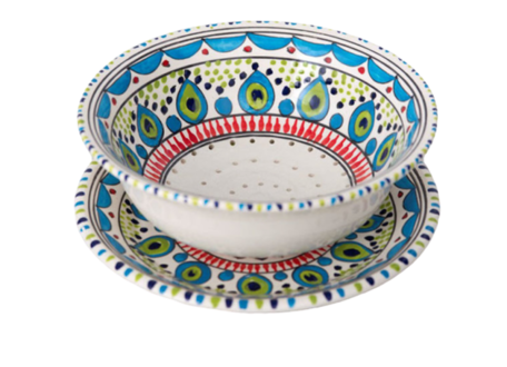 Fruit-test Pavo 20 cm | FT.PA.20 | Dishes & Deco