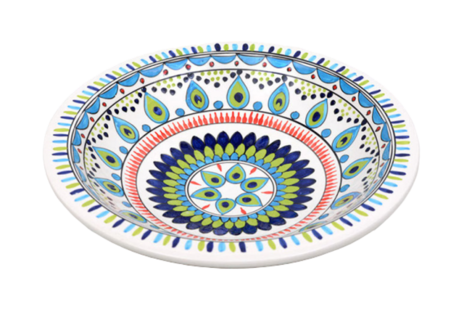 Salade schaal Pavo pauw Ø 35 cm | SOR.PA.35 | Dishes & Deco