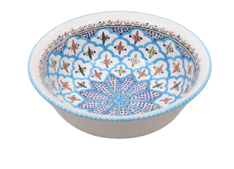 Saladier Turquoise blue fine Ø 30 cm | SS.BC.30 | Dishes & Deco