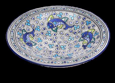 Salade schaal Poisson Ø 30 cm | SOR.AD.30 | Dishes & Deco