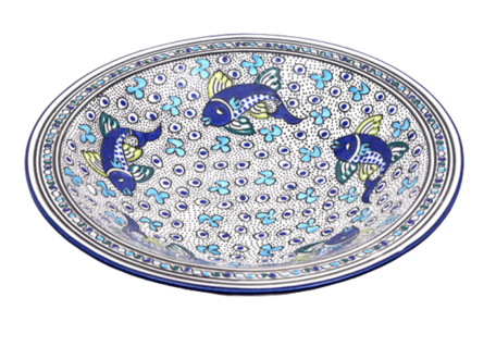 Salade schaal Poisson Ø 40 cm | SOR.AD.40 | Dishes & Deco