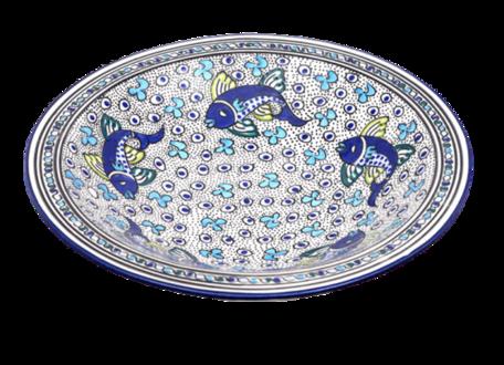 Salade schaal Poisson Ø 40 cm | SOR.AD.40 | Dishes & Deco