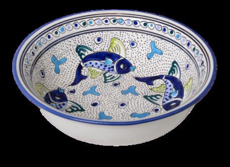 Saladier Poisson Ø 30 cm | SS.AD.30 | Dishes & Deco