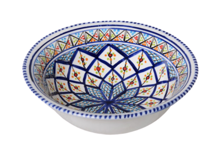 Saladier Shebka Ø 30 cm | SS.AE.30 | Dishes & Deco