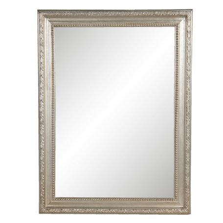 Spiegel 63*2*83 cm Zilverkleurig   52S218   Clayre & Eef