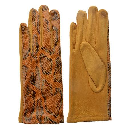 Handschoenen 9*24 cm Geel | JZGL0034Y | Clayre & Eef